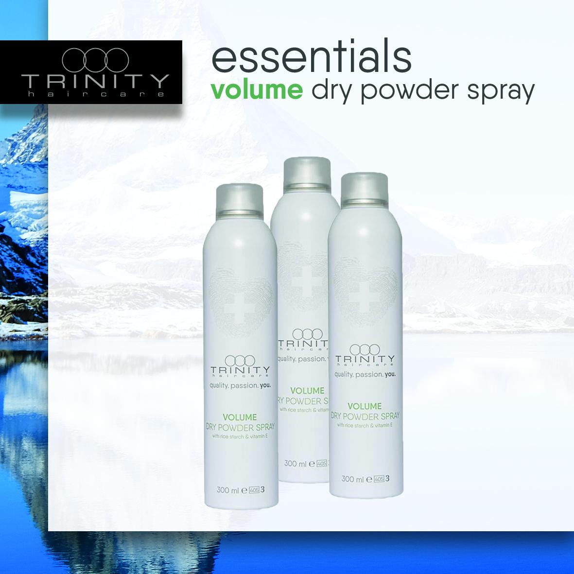Volume Dry Powder Spray